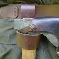 TBS Leather Axe Loop - Perfect for carrying an axe on your belt
